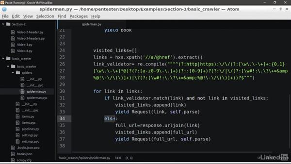 Recursive crawling: Learning Python Web Penetration Testing