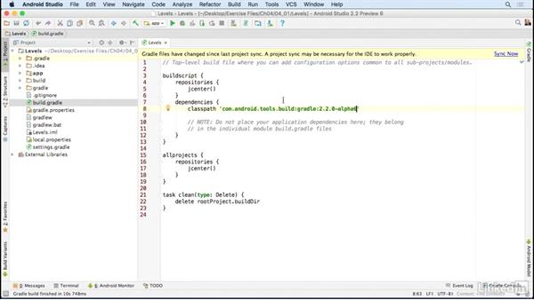 How to use the exercise files: Building a Game App with the Android SDK