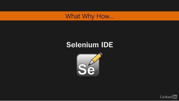 A quick introduction to Selenium IDE: Mastering Selenium Testing Tools
