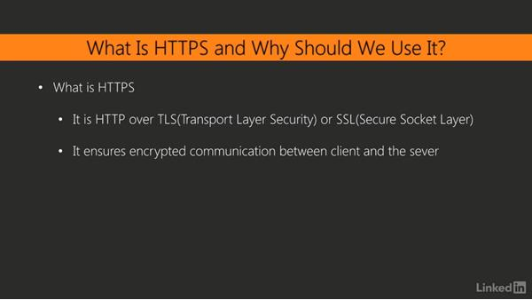 Why use HTTPS?: Web API Development with Flask