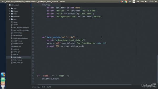 Testing CRUD: Web API Development with Flask