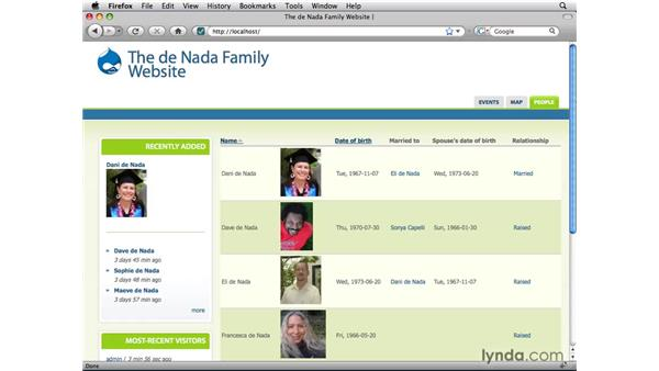 : Drupal 6: Online Presentation of Data