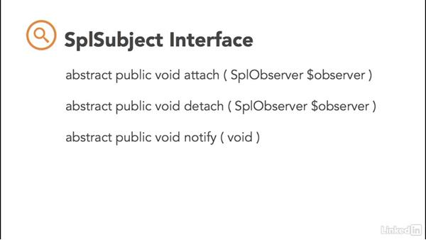 PHP standard interfaces: PHP: Advanced Topics