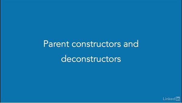 PHP constructors and deconstructors: PHP: Advanced Topics