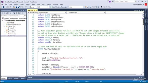 Looking at single-threaded source code: Windows Performance Toolkit: CPU Analysis