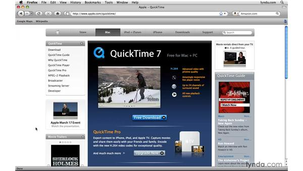 Installing QuickTime: Photoshop CS4 Extended for Video