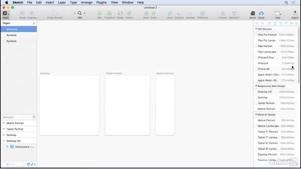 Welcome: UX Design Tools: Sketch
