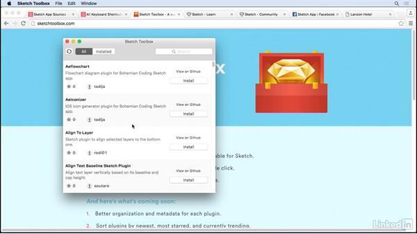 Sketch Toolbox: UX Design Tools: Sketch