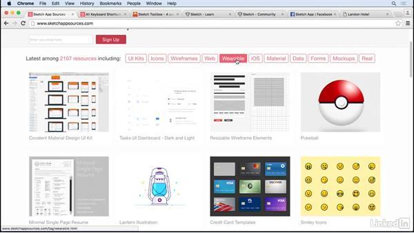 Sketch app sources: UX Design Tools: Sketch