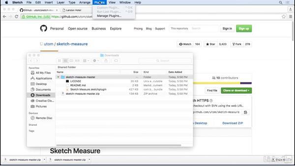 Installing downloaded plugins: UX Design Tools: Sketch