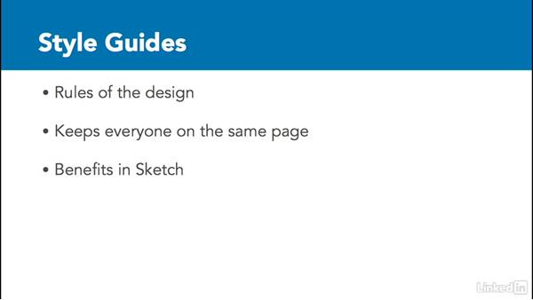 Style guides: UX Design Tools: Sketch
