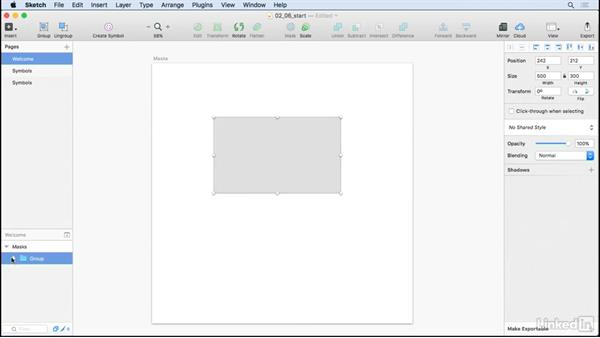 Layers and masks: UX Design Tools: Sketch