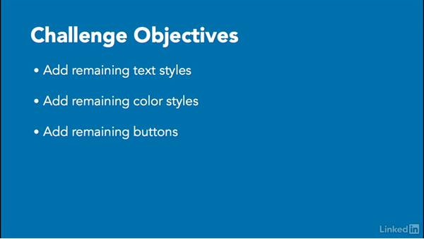 Challenge: Styles and symbols: UX Design Tools: Sketch