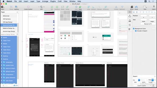 Android app design: UX Design Tools: Sketch