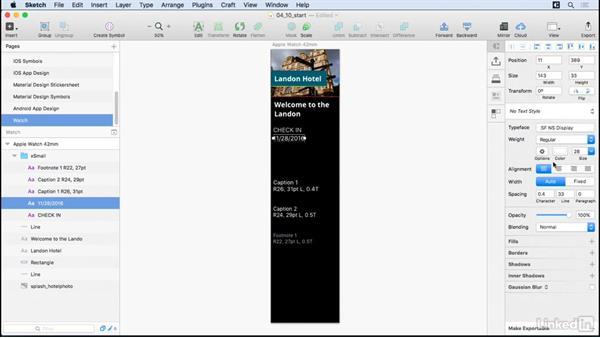 watchOS design assets: UX Design Tools: Sketch