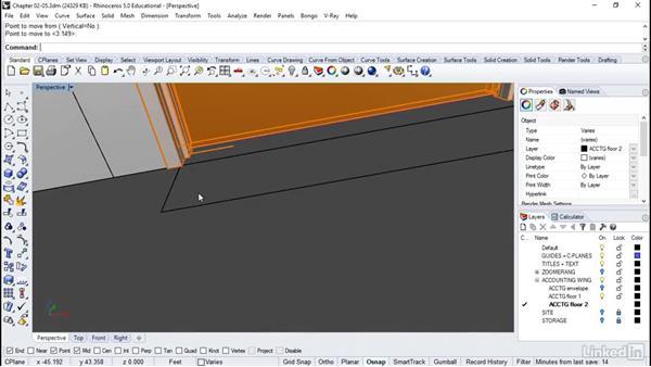 Adding trim and detailing: Rhino: Architectural Interior & Detail