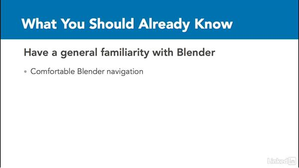 What you should already know: Python Scripting for Blender