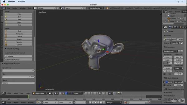 What our add-on will do: Python Scripting for Blender