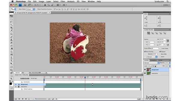 """Working with """"B-roll"""": Photoshop CS4 Extended for Video"""
