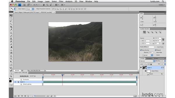Creating Smart Object video: Photoshop CS4 Extended for Video