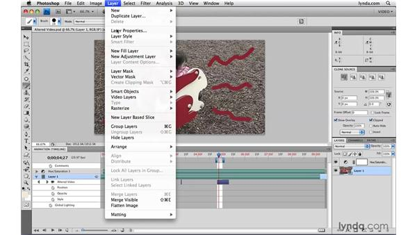 Restoring altered video: Photoshop CS4 Extended for Video