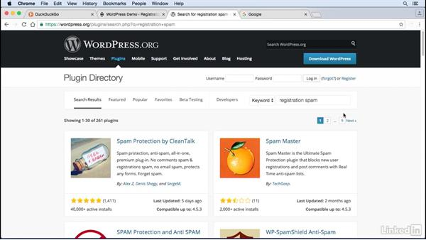 Disable user registration: WordPress: Developing Secure Sites