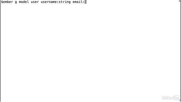 Transform models: Ember.js Essential Training