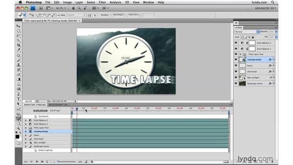 Faking time lapse: Photoshop CS4 Extended for Video