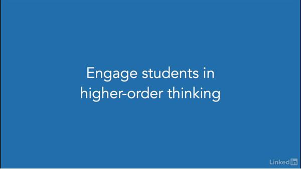 Engage students in higher-order thinking: Keynote for Educators