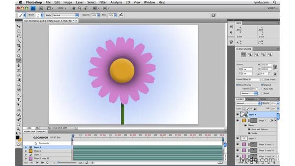 Creating 2D cel animation: Photoshop CS4 Extended for Video