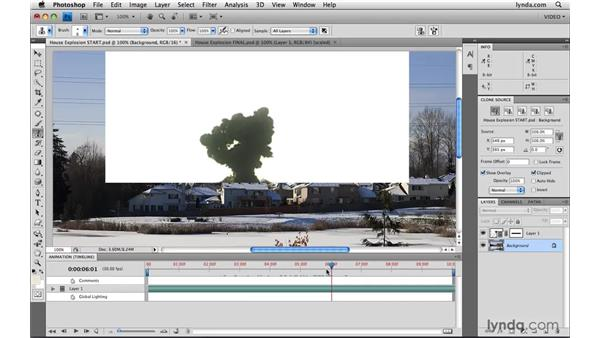 Compositing with blend modes: Photoshop CS4 Extended for Video