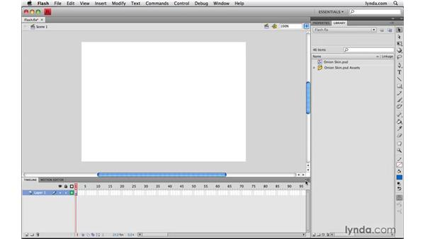 Using Photoshop files in Flash: Photoshop CS4 Extended for Video