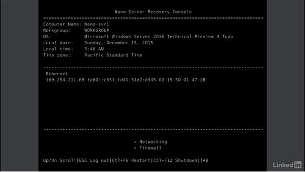 Introduction to Nano Server: Windows Server 2016: New Features