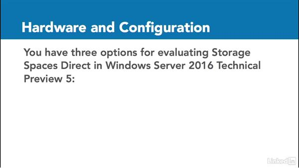 Storage Spaces Direct: Windows Server 2016: New Features