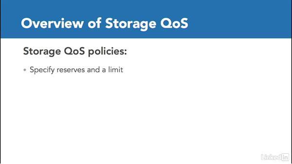 Storage QoS: Windows Server 2016: New Features