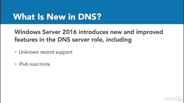 Networking services: Windows Server 2016: New Features