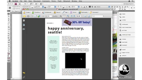 Welcome: InDesign CS4: 10 Things to Know About Interactive PDFs