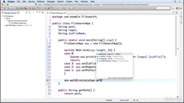Structuring the code: Learn Java Concepts By Example