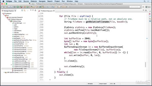 Add an option to zip the results: Learn Java Concepts By Example
