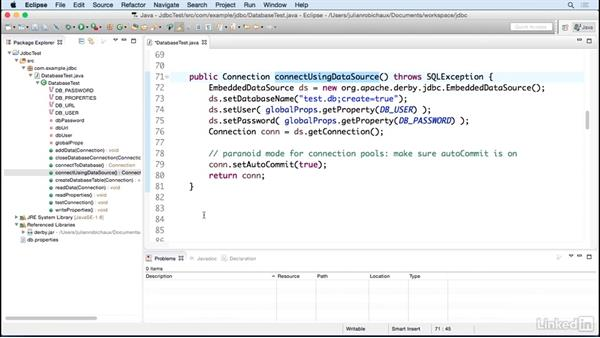 Use JDBC to access a database: Learn Java Concepts By Example