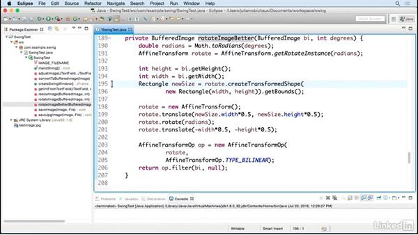 Image rotation and saving: Learn Java Concepts By Example