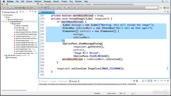 Use message boxes and prompts for user interaction: Learn Java Concepts By Example