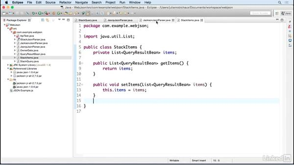 Parse REST calls using Jackson: Learn Java Concepts By Example