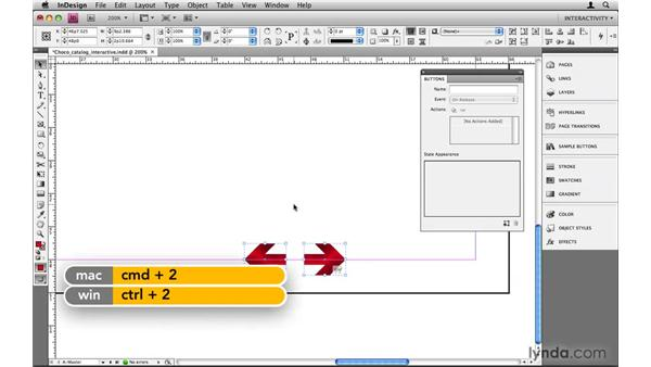 Taking advantage of sample buttons: InDesign CS4: 10 Things to Know About Interactive PDFs