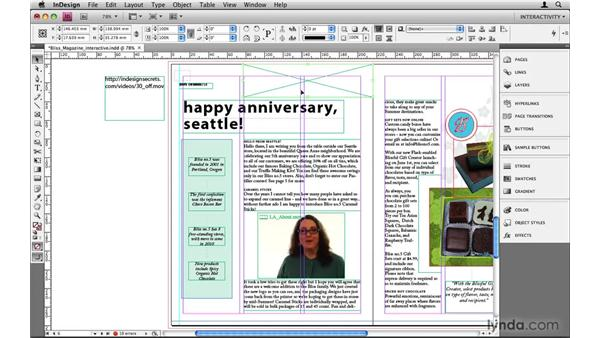 Streaming movies over the internet: InDesign CS4: 10 Things to Know About Interactive PDFs