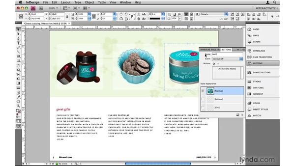 Hiding and showing page objects: InDesign CS4: 10 Things to Know About Interactive PDFs