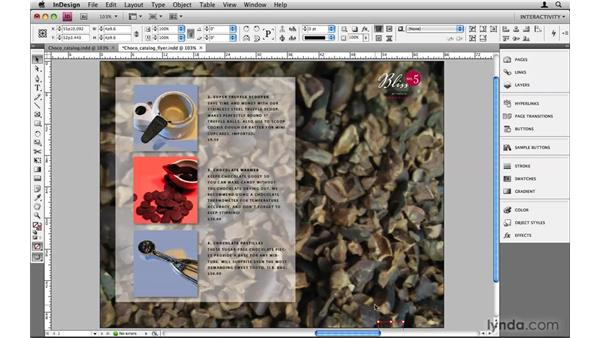 Adding background music: InDesign CS4: 10 Things to Know About Interactive PDFs