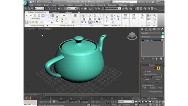 Understanding the Modeling Ribbon: 3ds Max 2010 New Features
