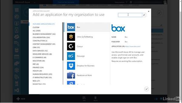Demo AAD and SaaS: Plan a Microsoft Cloud Solution