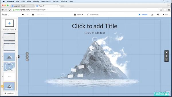 Consider your end goal first: Prezi Tips and Tricks